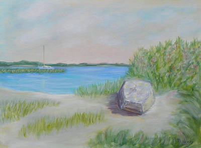 Painting - Florida Coastal Living by Patty Weeks