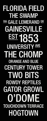 Florida College Town Wall Art Art Print by Replay Photos