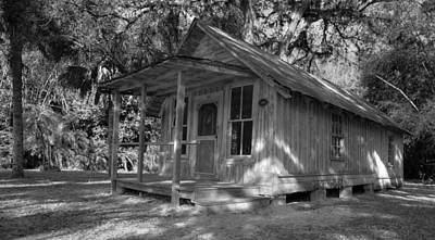 Photograph - Florida Cracker House by Sean Allen