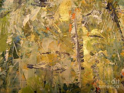 Florida Feather Art Print by Nancy Kane Chapman