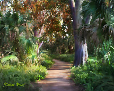 Digital Art - Florida Forest by Richard Beard