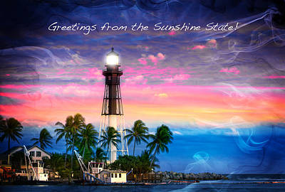 Photograph - Florida Greeting I by Mark Andrew Thomas