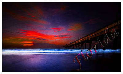 Photograph - Florida Greeting V by Mark Andrew Thomas