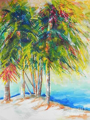 Chrisann Painting - Florida Inspiration  by Chrisann Ellis