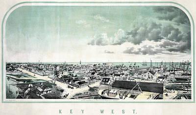 Florida Key West Art Print by Granger