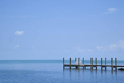 North American Photograph - Florida Keys Quiet Place by Melanie Viola