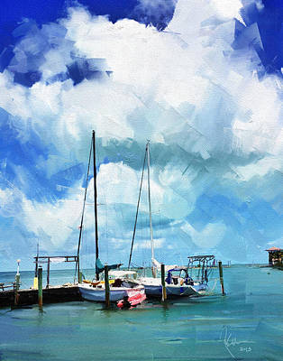 Painting - Florida Keys by Robert Smith