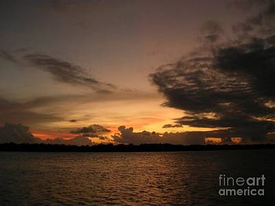 Photograph - Florida Keys Sunset by Lora Duguay
