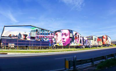Photograph - Florida Largest Public Mural by Robert Palmeri
