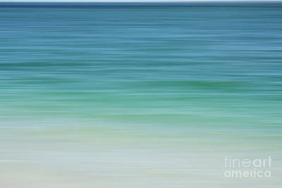 Photograph - Florida Ocean Abstract Waves by Andrea Hazel Ihlefeld