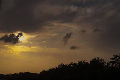 Photograph - Florida Panhandle Sunset by Judy Hall-Folde