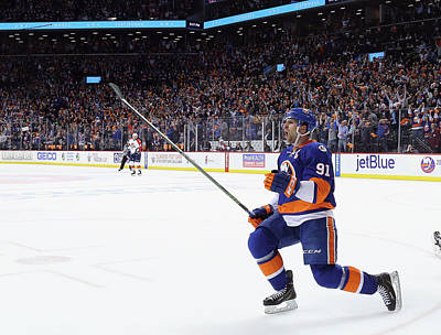 Playoffs Photograph - Florida Panthers V New York Islanders - by Bruce Bennett
