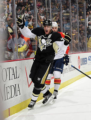 Photograph - Florida Panthers V Pittsburgh Penguins by Joe Sargent