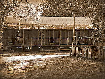 Photograph - Florida Pioneer Home Silver River 1 by Sheri McLeroy