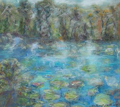 Pastel - Florida Preserve by Barbara Anna Knauf