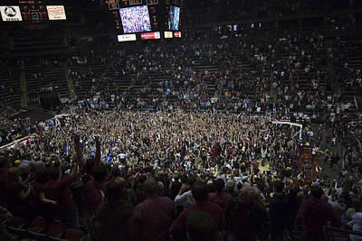 Florida State Seminoles Donald L. Tucker Arena Art Print by Replay Photos