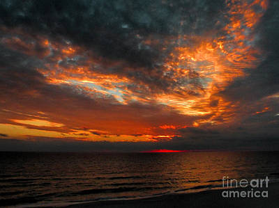 Florida Sunset Print by Dave Bosse