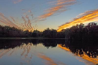 Photograph - Florida Sunset by John Black