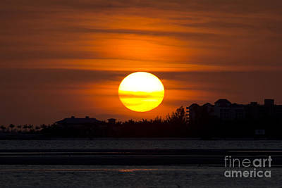 Photograph - Florida Sunset Photo by Meg Rousher