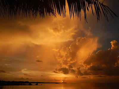 Photograph - Florida Sunshower Sunset by Susan Sidorski