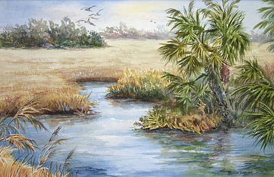 Florida Wilderness IIi Art Print