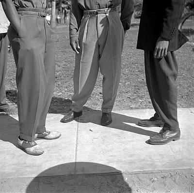 Pant Suit Photograph - Florida Zoot Suits, 1943 by Granger