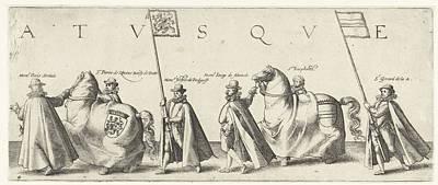 Floris Serelais, Pierre De Rhosne, Bailiff Of Putte Art Print
