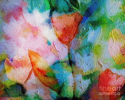 Abstract Painting - Florisan by Lutz Baar