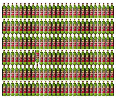 Briex Digital Art - Floryn Bottles 2012 by Nop Briex