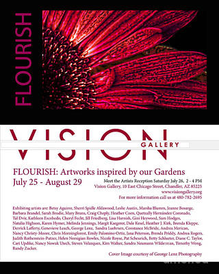 Photograph - Flourish Announcement For Newsletter by Heather Kirk