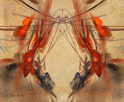 Flourishes Art Print by Sylvia Thornton
