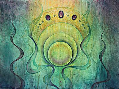 Flow #2 Art Print by Ellen Starr