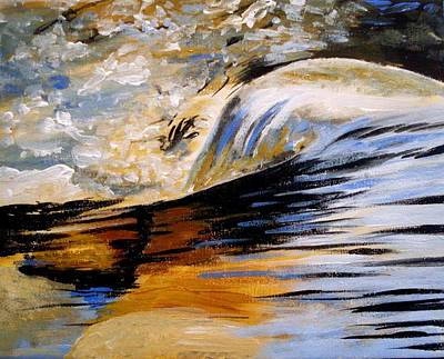 Painting - Flow by Anne Gardner