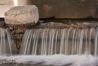 Photograph - Flow Obstruction by Hany J