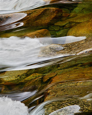 Photograph - Flow On The Merced River by Robert Woodward
