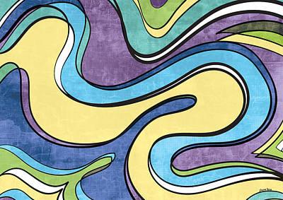 Free Form Digital Art - Flow by Shawna Rowe