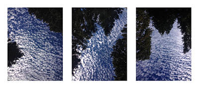 Photograph - Flow Triptych by Randal Bruck