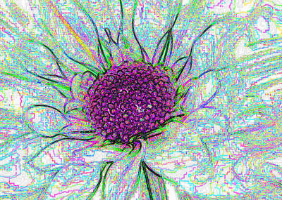 Flower 5a Original by Bruce Iorio