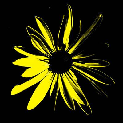 Art Print featuring the digital art Flower 8 by Maggy Marsh