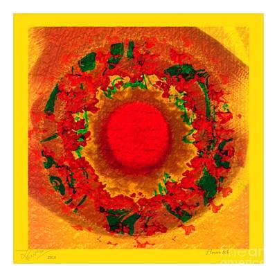 Flower 86b Original by Lawrence Nusbaum
