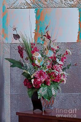 Photograph - Flower Arrangement by Liane Wright