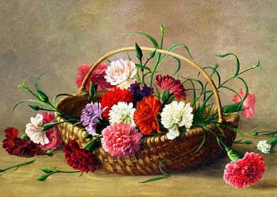 Photograph - Flower Basket by Munir Alawi
