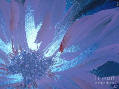 Painting - Flower Blue II by LCS Art
