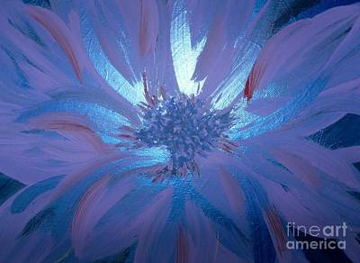 Painting - Flower Blue by LCS Art