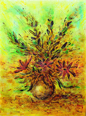 Painting - Flower Bouquet by Martin Capek