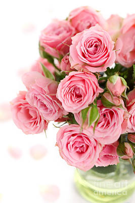 Flower Bouquets Art Print