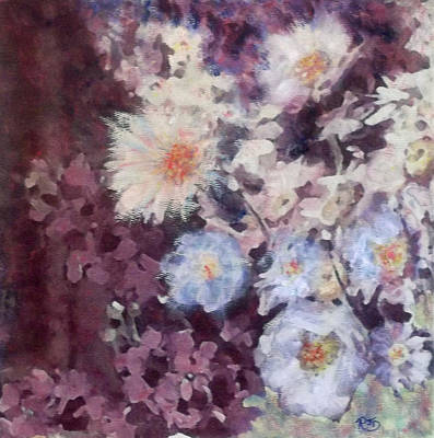 Painting - Flower  Burst by Richard James Digance