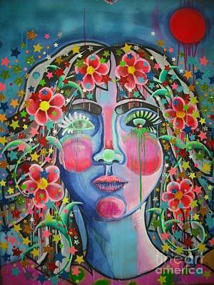 Painting - Flower Child  by Katie McGuire