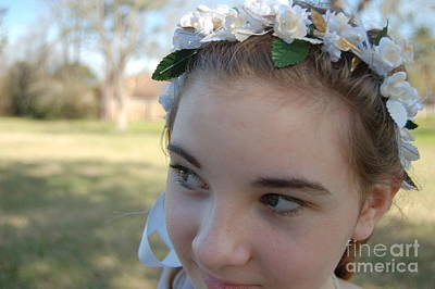 Photograph - Flower Child by Tamyra Crossley