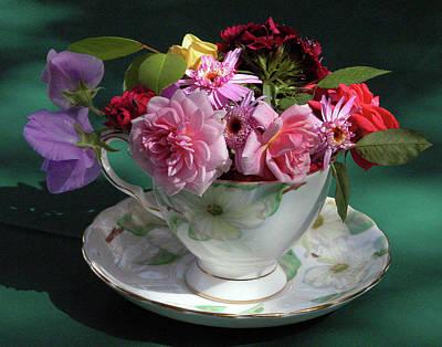 Flower Cup 1 Art Print